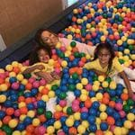 "Claiming she doesn't participate in sex before marriage, Mariah Carey gets excited in a ball pit while hunting for her next husband... ""Festive moments forever!"" Picture: Mariah Carey / Instagram"