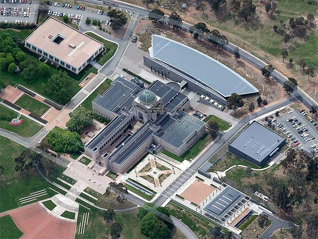 "Canberra in 3-D: #1 Australian War Memorial ""Moving, amazing, could spend days here."" Photo: Google Maps"