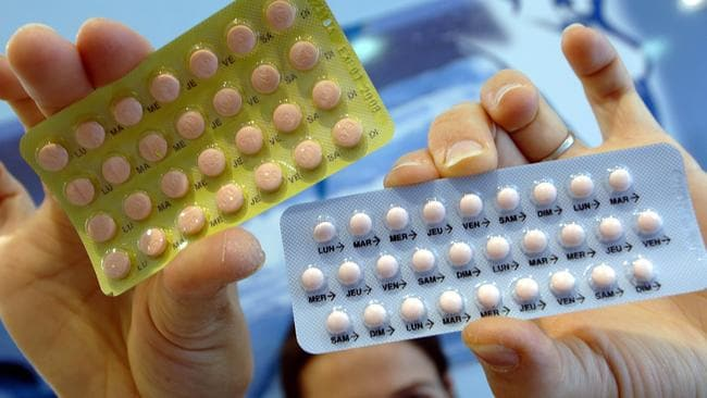 Good for verbal memory ... a Monash Alfred Psychiatry Research Centre study has found the contraceptive pill has other benefits. Picture: AFP