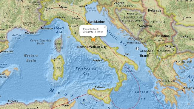 A 6.2 magnitude earthquake has caused widespread destruction in central Italy.