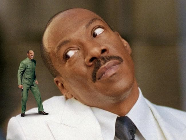 Diva demands … Eddie Murphy.