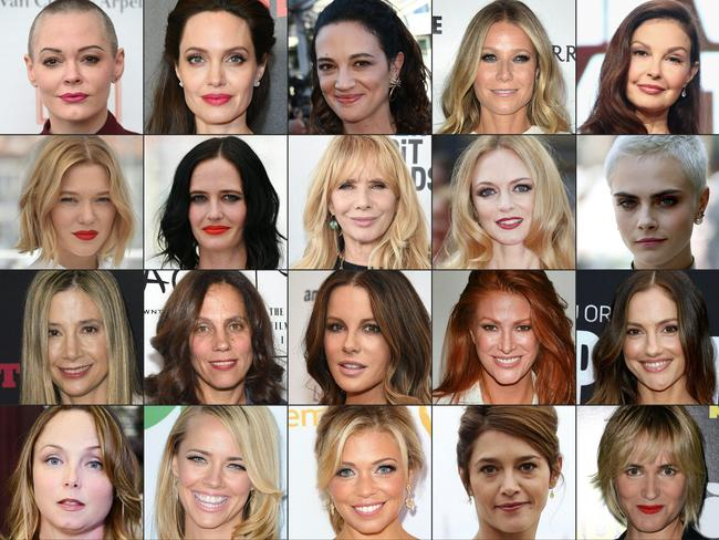 Dozens of women have come forward with stories or alleged abusive behaviour by Weinstein dating back decades. Picture: AFP/Getty Images