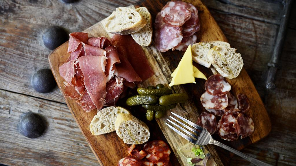 Chef's selection charcuterie platter at Bloody French, Subiaco. Picture: Richard Hatherly