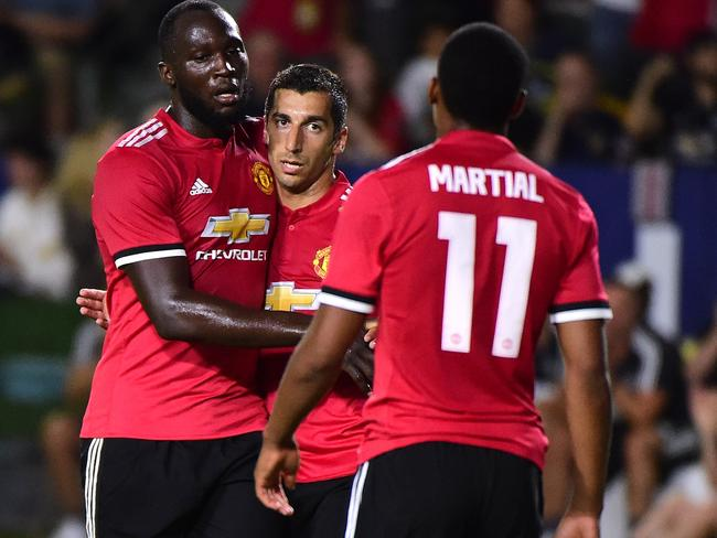 Romelo Lukaku made his Manchester United debut.