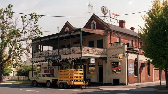 The Commercial Hotel in Albury where murder victim Kim Meredith worked.