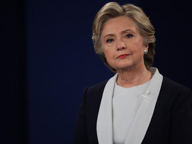 Hillary Clinton discusses her election failure in her upcoming book, What Happened. Picture: Chip Somodevilla/Getty Images/AFP