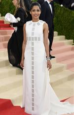 "Freida Pinto attends the ""Manus x Machina: Fashion In An Age Of Technology"" Costume Institute Gala at Metropolitan Museum of Art on May 2, 2016 in New York City. Picture: Larry Busacca/Getty Images/AFP"