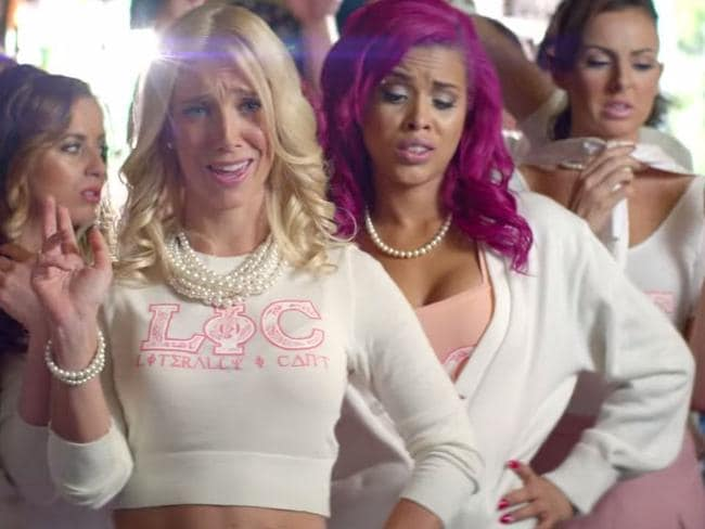 The song features seemingly uptight girls who attend a frat party.