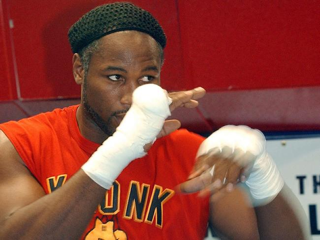 Lennox Lewis and Tyson Fury are trading blows.