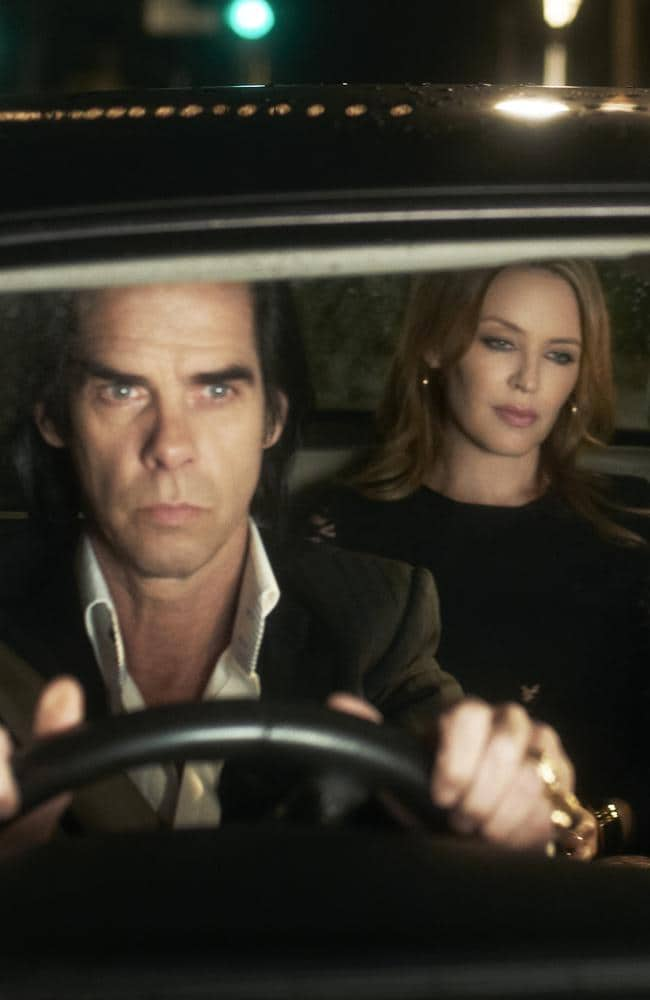 "Kylie Minogue ""dropped into my life from another planet"", says Nick Cave. Picture: Supplied"