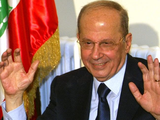 Lebanese President Michel Aoun is an ally of Hezbollah. Picture: Supplied