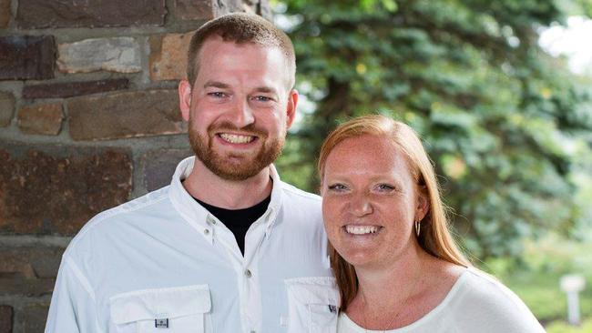On the brink ... fearing he would die from Ebola, missionary worker Kent Brantly called his wife Amber to say goodbye.
