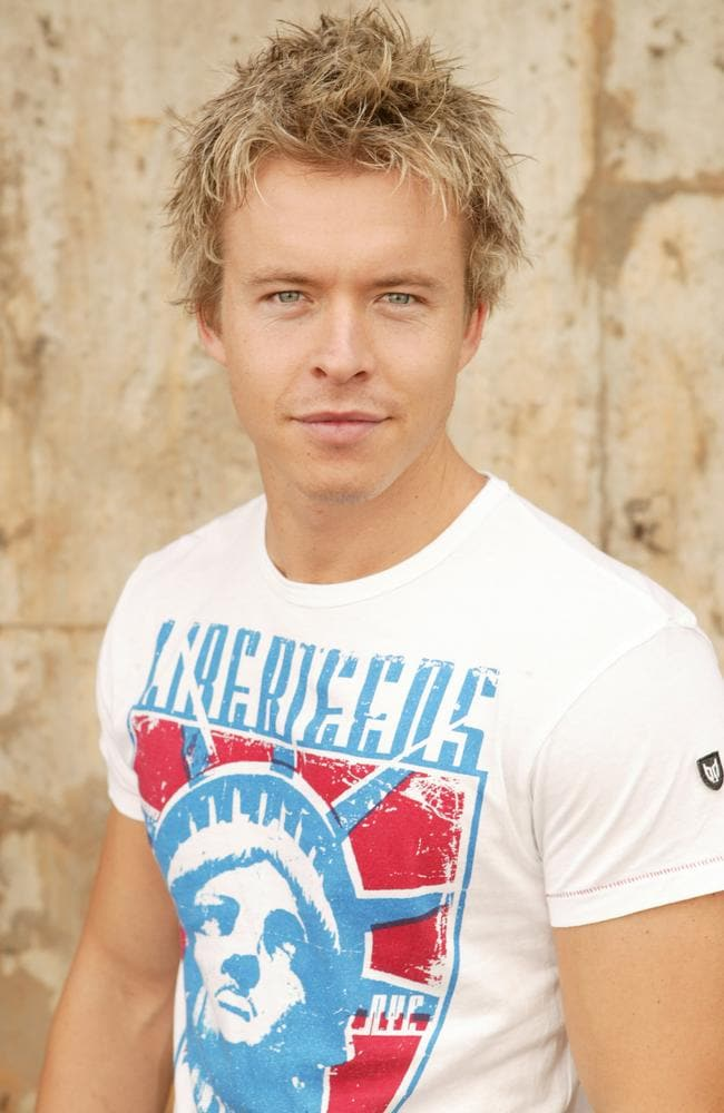 In trouble ... former Home And Away star Todd Lasance was charged with drug possession after being found with cocaine in 2009.