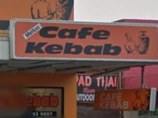 Kebab-store tirade caught on camera
