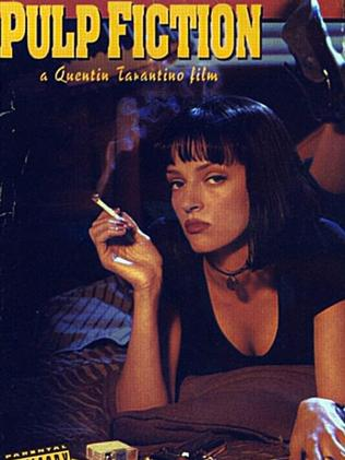 Pulp Fiction with Uma Thurman was produced by Harvey Weinstein. Picture: Supplied