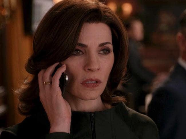 Drama ... The Good Wife's Julianna Margulies earns around $10 million a year for her Emmy-winning turn as hotshot lawyer Alicia Florrick. Picture: Supplied
