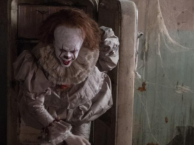 Pennywise the clown, oh helllll no.