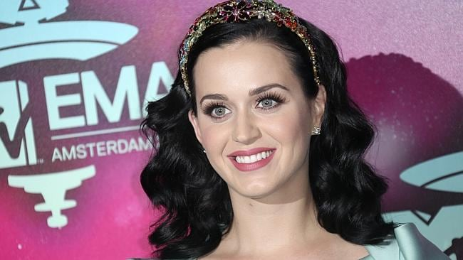 Katy Perry at the 2013 MTV Europe Music Awards in Amsterdam. Photo: AP