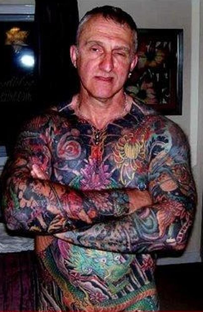 Rock your ink with a face full of attitude? This is you at 60. Picture: VK.com