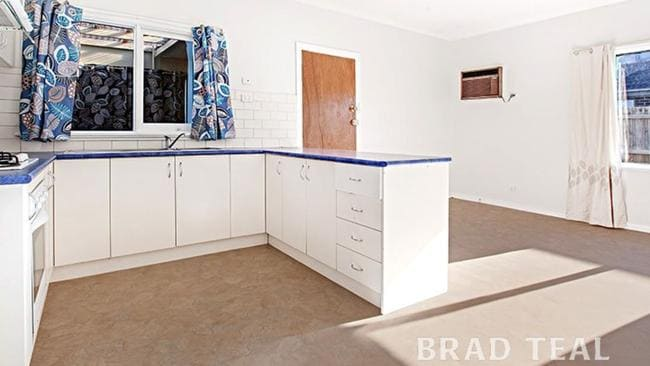 Could you see yourself making rissoles in this kitchen? Picture: Brad Teal