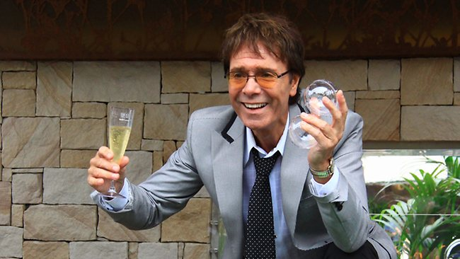 Sir Cliff Richard at Chelsea Flower Show