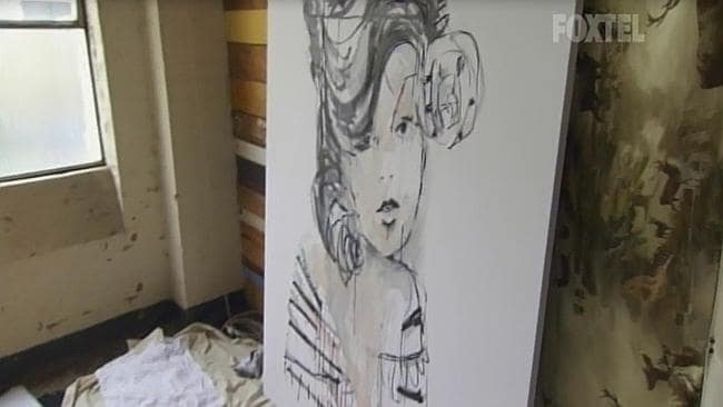 Artist Aaron Kinnane's about-to-be-destroyed-artwork.