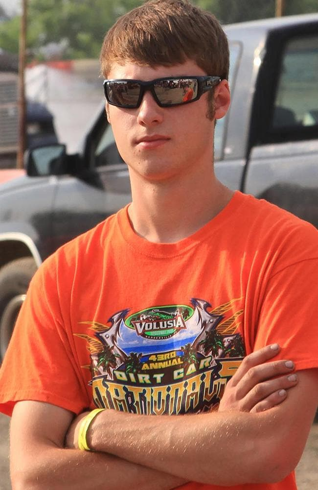 A file photo of sprint car driver Kevin Ward Jr., at the Merrittville Speedway in Thorold, Canada.