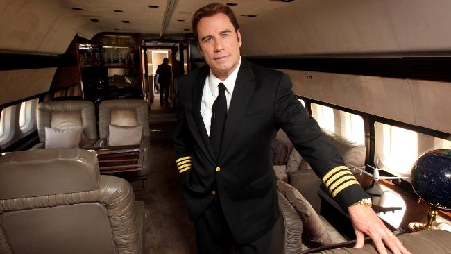 how john travolta got a short 707