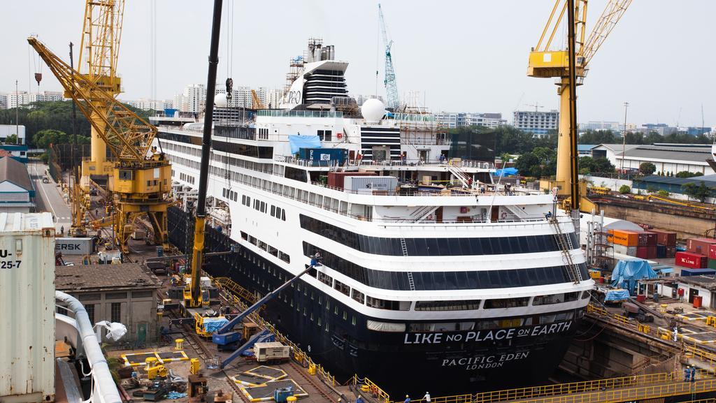 PO Cruise Ships Pacific Aria And Pacific Eden Undergo Renovations - Cruise ship pacific
