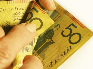 Supplied Money tax, australian money, generic