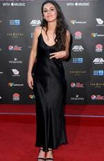 Amy Shark arrives at the 31st ARIA Awards at The Star, in Sydney, Tuesday, November 28, 2017. Picture: AAP Image/Dan Himbrechts