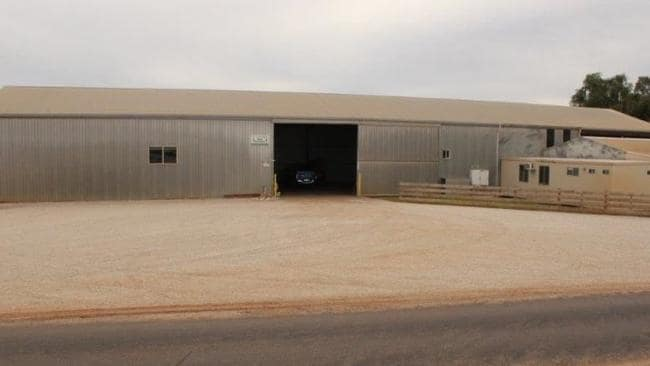 You don't get a shed this size in cpaital cities ... Suitable for large scale vegetable production. Picture: realestate.com.au