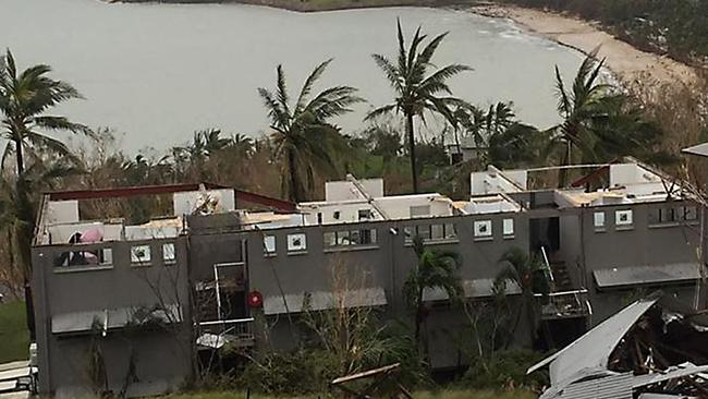 Devestation in the aftermath of Cyclone Debbie at hamilton Island. MUST CREDIT Photos: Paul Ferrante