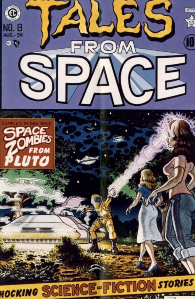 Tales From Space — the comic that was featured in the film.