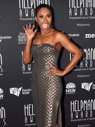 At the Helpmann Awards last month. Picture: AAP