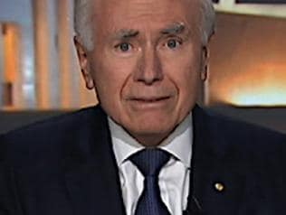 Prime Minister John Howard talking to the ABC's 7.30 Report.