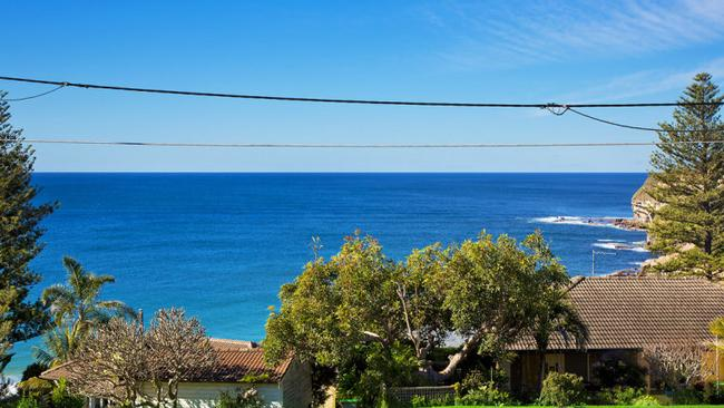 The view from the Mona Vale home.