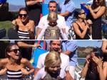 Jessica Alba, Gavin Rossdale with son Zuma and Nicole Richie... VIEW VIDEO Picture: You Tube