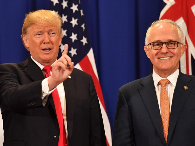 US President Donald Trump and Australian Prime Minister Malcolm Turnbull  last met at the Association of