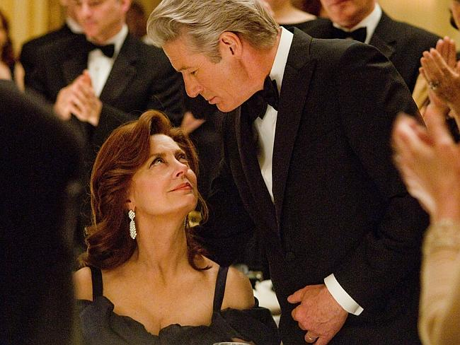 Arbitrage with Richard Gere as a billionaire CEO of a hedge fund who has two kinds of fraud, financial and personal, going at once. Susan Sarandon is his wife. Supplied by Madman