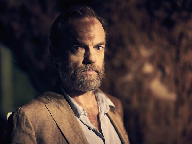 Hugo Weaving nabbed his third consecutive AACTA for his role in Seven Types of Ambiguity. Picture: ABC