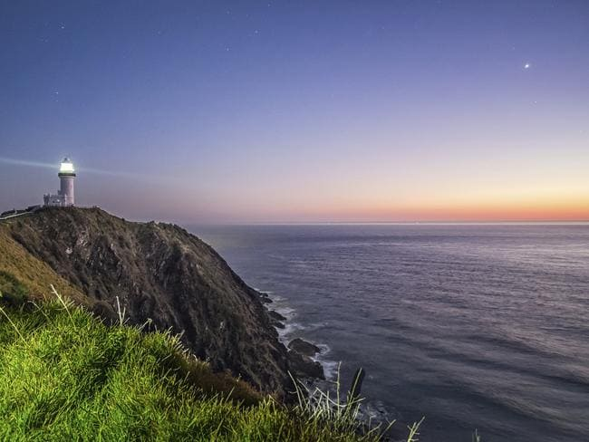 How's this Byron Bay sunrise for serenity?