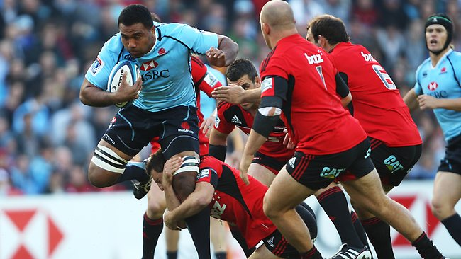 A fit Wycliff Palu will put the Waratahs on the front foot in season 2013. Picture: Phil Hillyard