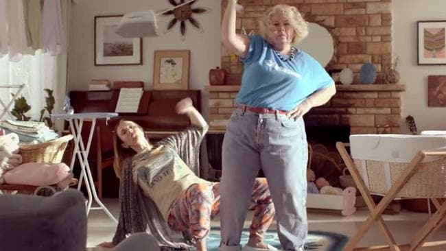 Krumping campaign: Jacinta and Kerry. Picture: Supplied