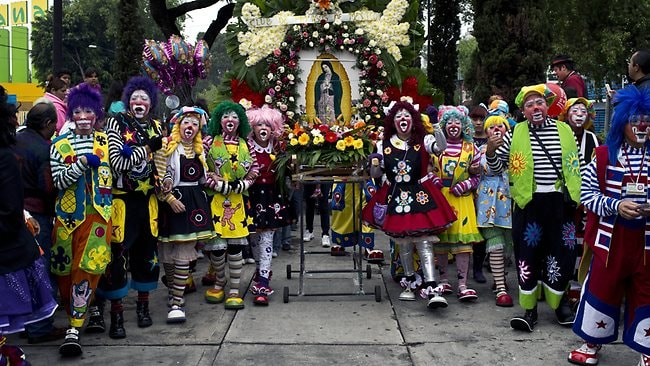 Clown pilgrimage