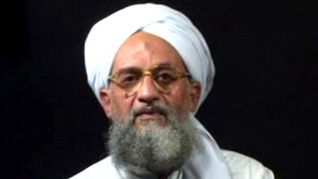 "Ayman al-Zawahiri appears in a video entitled ""An invitation to Islam"", released in 2006. Picture: AFP"
