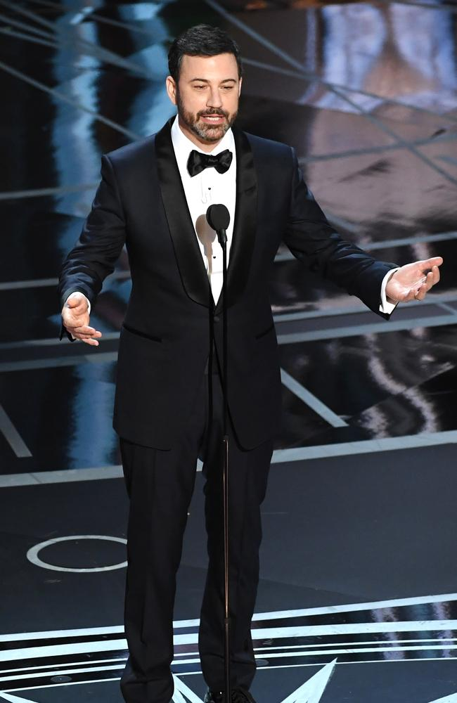 George W Bush was a fan of Jimmy Kimmel's performance as host of the Oscars. Picture: Kevin Winter/Getty Images