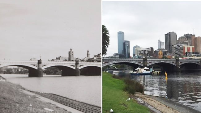 how the melbourne skyline sprouted up over decades daily