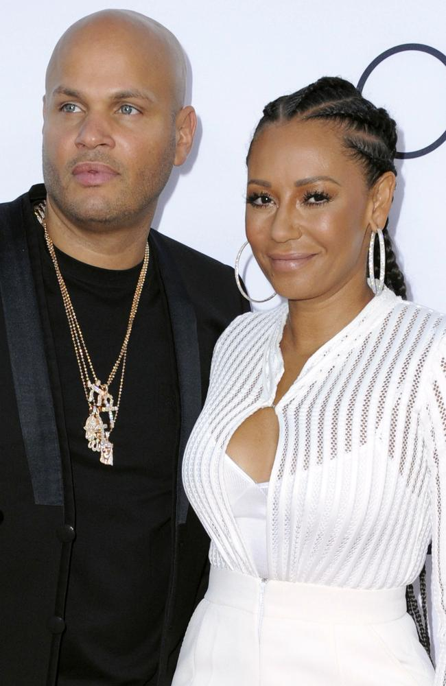 Film producer Stephen Belafonte and singer Melanie Brown are divorcing after almost 10 years of marriage.