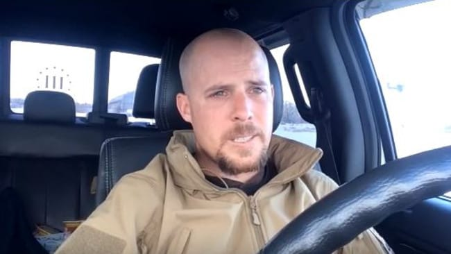 "Emotional video ... Jon Ritzheimer says he wants to die ""a free man"". Picture: YouTube"